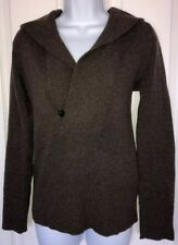 JCREW Cashmere Blend Shawl Collar Pull Over Hoodie Sweater S Excellent Condition