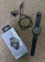 Garmin Vivomove HR Sport Fitness Tracker Black Large Hybrid Smartwatch
