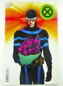 Marvel HOUSE OF X #4 CYCOPS Flowers VARIANT Hickman X-MEN NM 9.4 Ships FREE!