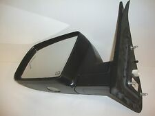08-13 Toyota Tundra Sequoia Left Driver Side Signal Door Mirror OEM Chrome