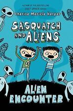 Alien Encounter (Sasquatch and Aliens)-ExLibrary