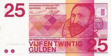 25 gulden 1971 Unc  / 091