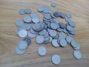 100 sixpences -  Elizabeth II - bulk lot  (