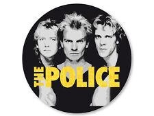 Magnet Aimant Frigo �˜38mm The Police Rock UK Sting Copeland