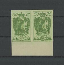 LIECHTENSTEIN 32 U UNGEZÄHNT FREIMARKE 1920 o.G. (*) IMPERF RARE! m1237