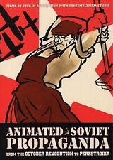 ANIMATED SOVIET PROPAGANDA HISTORY CARTOONS DOCUMENTARY 4DVD SET BRAND NEW