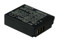 3.7V battery for Panasonic CGA-S007A/B, DMW-BCD10, Lumix DMC-TZ5A, CGR-S007E/1B