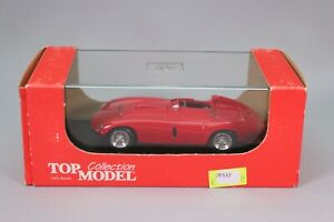 ZE532 TOP MODEL 1/43 Ferrari 250 Monza Street Red  Ref TMC241 BON ETAT
