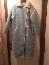 Very Very Rare!Vintage Manteau Coat André COURREGES Years 60s/70s Turquoise VHTF