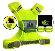 Reflective Safety Vest Set Pocket 3M Armbands Construction