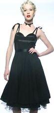 Lip Service Devil Dolls III long  dress XS goth gothic black rare