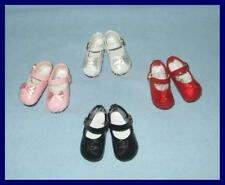 """SAVE 31% 4 pr Patent SHOES for 13"""" Effner LITTLE DARLINGS Tonner 14""""Betsy McCall"""
