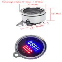 High Qualiy Universal 12V LED Digital Tachometer Voltmeter Gauge for Motorcycle