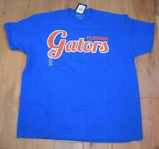 GATORS FLORIDA CHAMPS SPORT T-SHIRT M MEDIUM BLUE  BNWT