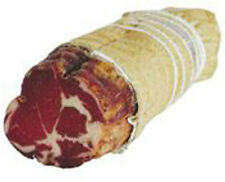 Capocollo épicé viande séchée 650 g produits typiques charcuterie typiques