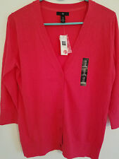 GAP Womens Button Down Cardigan Sweater, Pink, Size Small,NWT