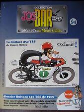 FASCICULE SERIE 2 JOE BAR TEAM 94 BULTACO 250 TSS 1965 / GINGER MOLLOY
