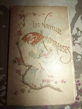 Aubert: Les Nouvelles Amoureuses, Fleurs d'Oranger, 1883. ill. J. Hanriot.