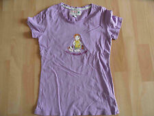 ADELHEID schönes lila Shirt WELTENBUMMLERIN! Gr. XS TOP KJ1