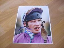 Paul CARBERRY Horse Racing NH JOCKEY 15/03/95  Original Hand SIGNED Press Photo