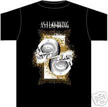 AS I LAY DYING ~ DEATH T-SHIRT ~ XL