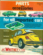 1974 J.C. Whitney & Co. Auto Parts Imported Cars