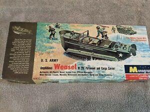 Lot 707 - US Army Weasel  M-29c - 1/32 Scale - Monogram 1657 Vintage
