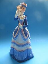 "Lenox Fine Porcelain Lady Sculpture ""Grand Tour"" American Fashion Figurine Coll"