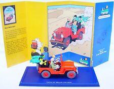 TINTIN Hergé 1:43 WILLYS JEEP CJ2A 1940 Atlas Comic Book TV Model Car 044 MIB!