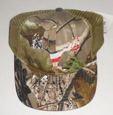 Realtree DEER BUCK CAMO Summer Baseball Hat Cap One Size R/W/B NEW free shipping