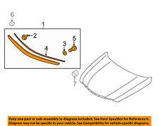 HYUNDAI OEM 11-13 Sonata Hood-Molding Trim 863553S101