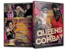 Queens of Combat 17 DVD-R, QOC WSU TNA NXT Rachel Ellering Leva Bates Jade