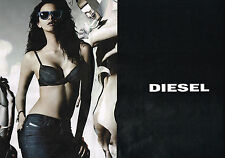 PUBLICITE ADVERTISING 114  2014   DIESEL   jeans & sous vetements ( 2pages)
