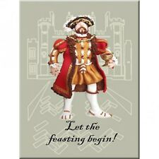 King Henry VIII fridge magnet by HOLY MACKEREL Made in UK