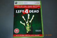 Left 4 Dead Game of the Year Edition Xbox 360 UK PAL **FREE UK POSTAGE**