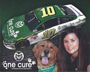 "2017 DANICA PATRICK ""ONE CURE COLORADO STATE"" #10 NASCAR MONSTER ENERGY POSTCARD"