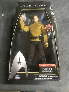 "2009 Star Trek Movie Command Collection Sulu 12"" Action Figure!"