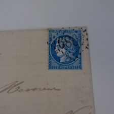 Cérès N° 60A Variety Letter cover Variety Net Surround North Lined