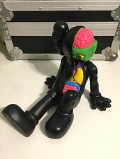 Kaws Original Fake Resting Place Black Companion Replica Figure 37cm No Box