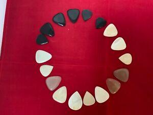 Timber Tones Bone Tones Guitar Pick / Plectrum - pack 4 Different Types