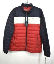 Tommy Hilfiger Mens Embroidered Chest Logo Packable Down...
