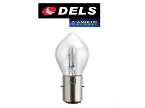 1 BOMBILLA DELS AMOLUX S2 BA20d 12V 35/35W LAMPARA COCHE MOTO NORMAL HOMOLOGADA