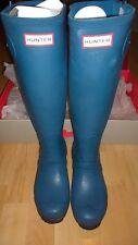 Hunter Tall Original Two Tone Wellies Wellington Boots Size 3 New BNIB