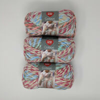 Red Heart Collage Dollhouse Lot of 3 Skeins 141g 55yds
