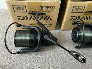 3 X Daiwa 19 Basia 45 SCW QD Fishing Reel - Black