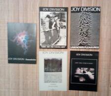 5 Carte postale Joy Division affiche de concert