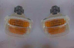 2x Side Fender Repeater Lamp Light Marker Amber ISUZU Pickup RODEO TF TFR 97-01