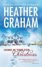 HOME IN TIME FOR CHRISTMAS by Heather Graham ~ Combined Ship TIME TRAVEL ROMANCE