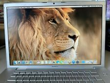 """Apple MacBook Pro A1260 15.4"""" A1226 120GB SSD 4gb Ram 49 battery count"""
