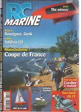 RC MARINE N°154 PLAN : CORDIER A MOTEUR / HORS-BORD OS 21 / VALDIVIA / ABC VOILE
